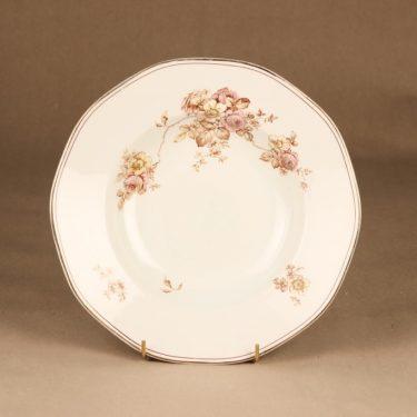 Arabia lautanen, syvä, 6 kpl, suunnittelija , syvä, kukka, jugend