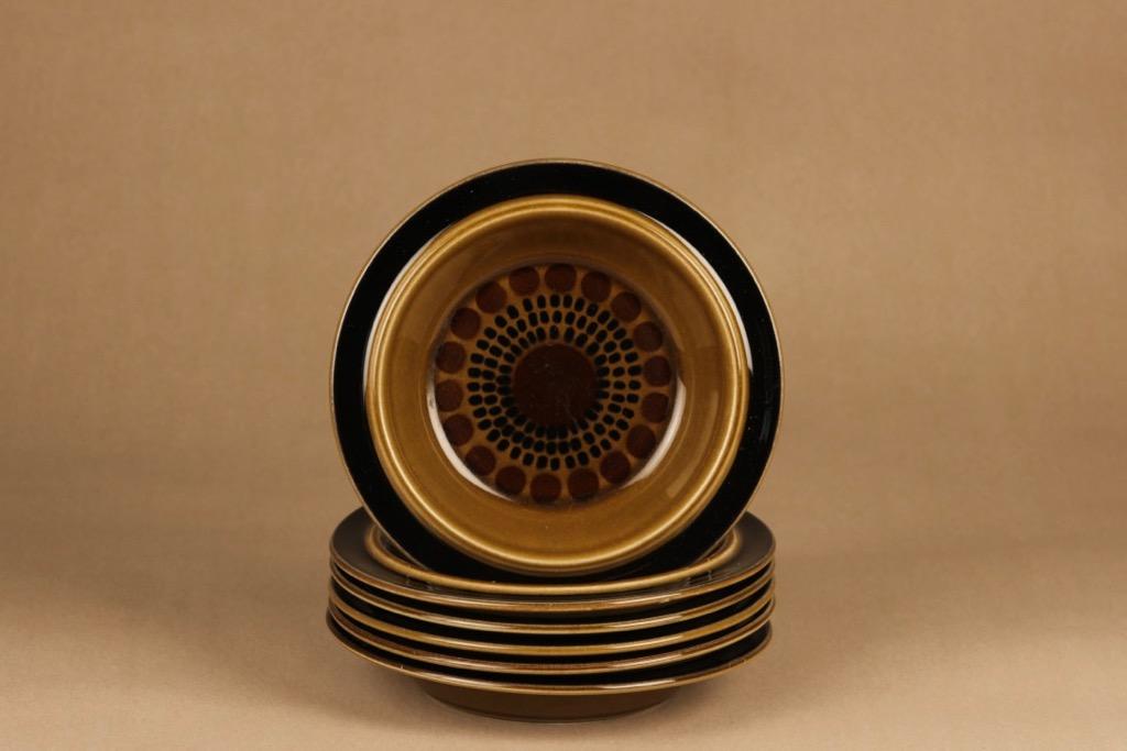 Arabia Kosmos soup plate, 6 pcs designer Gunvor Olin-Grönqvist