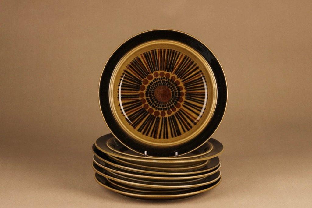 Arabia Kosmos salad plate designer Gunvor Olin-Grönqvist