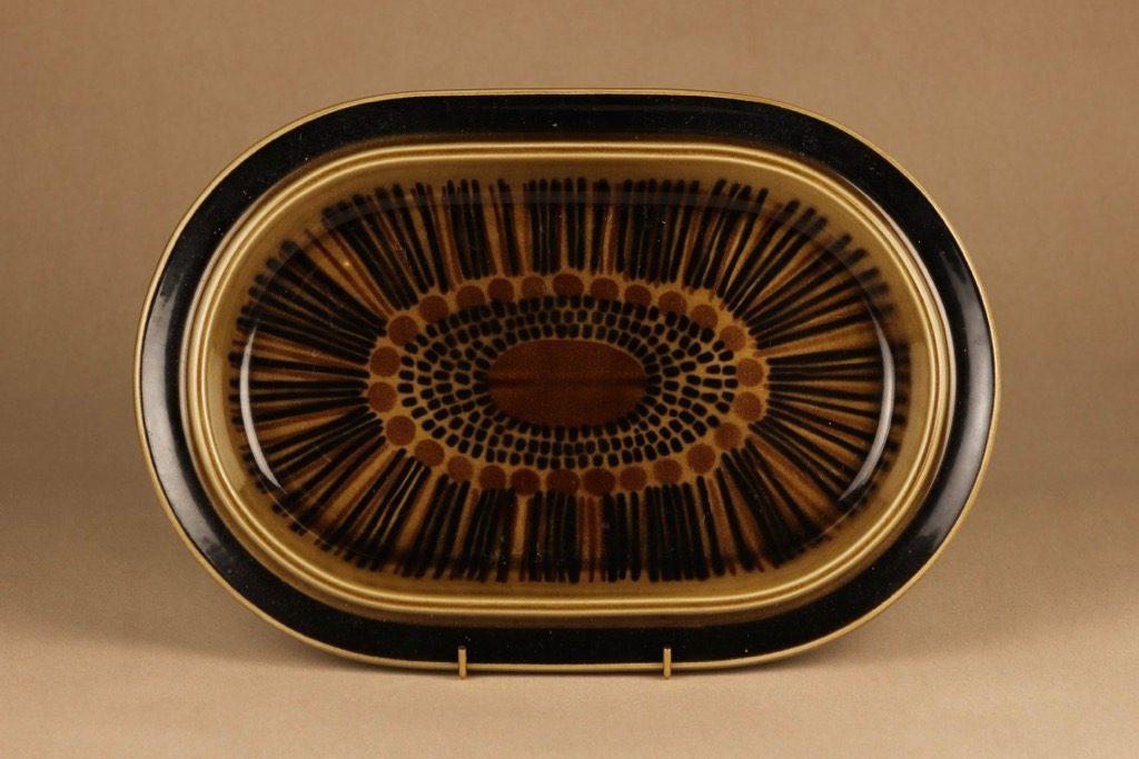 Arabia Kosmos serving plate, oval designer Gunvor Olin-Grönqvist