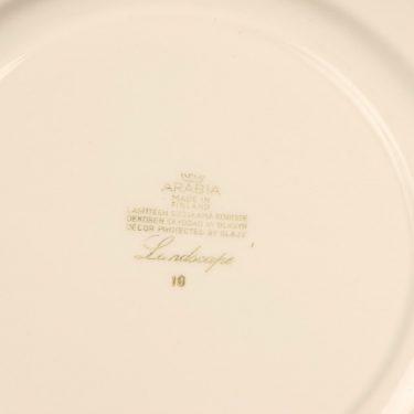 Arabia Maisema dinner plate 3