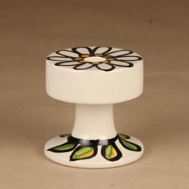 Arabia candle holder hand-painted retro