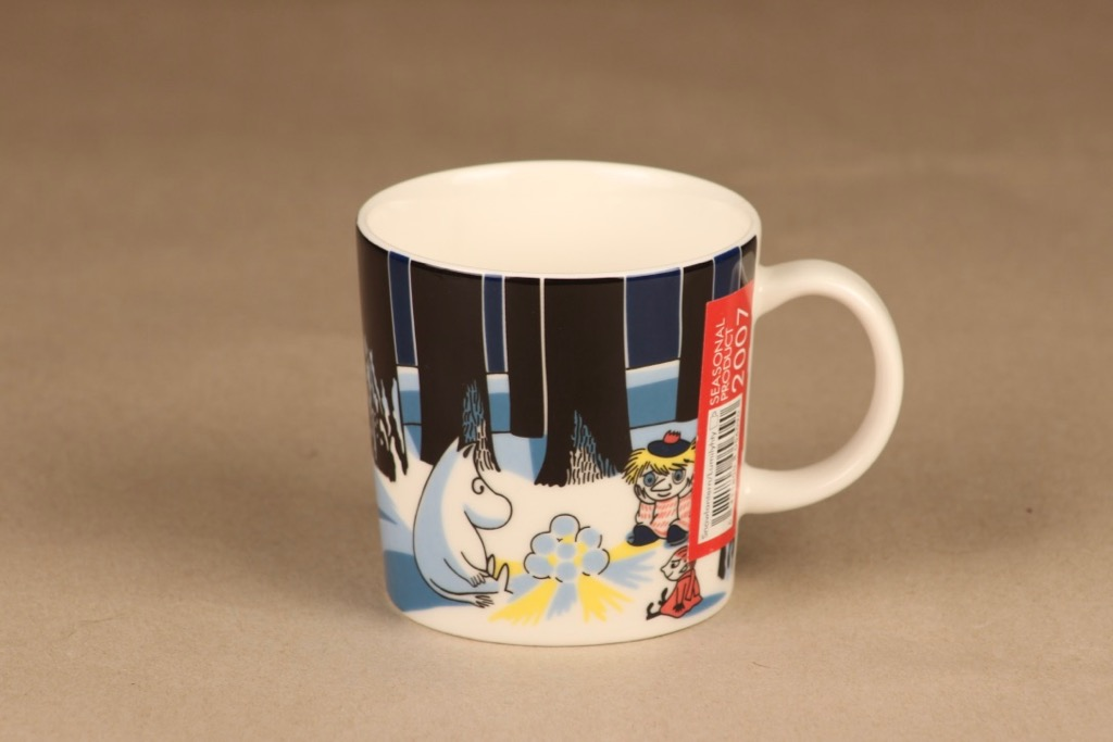 Arabia Moomin mug Snow lantern 2007 designer Tove Jansson/Tove Slotte-Elevant