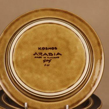 Arabia Kosmos lautanen, pieni, 6 kpl, suunnittelija Gunvor Olin-Grönqvist, pieni, puhalluskoriste, retro kuva 3
