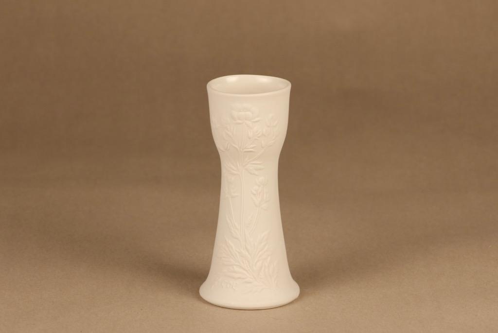 Arabia Suvi vase, white designer Gunvor Olin-Grönqvist