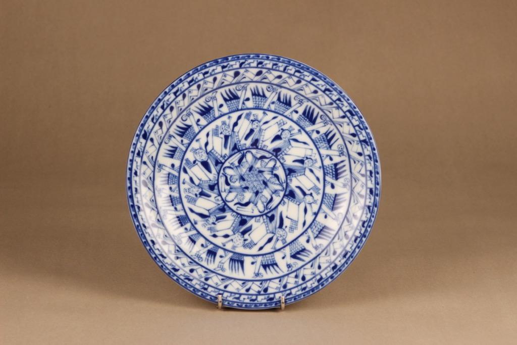 Rörstrand Cobolti dinner plate designer Oiva Toikka
