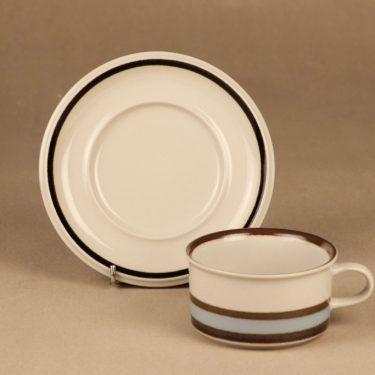 Arabia Suvanto teekuppi, raitakoriste, suunnittelija Ulla Procope, raitakoriste kuva 2