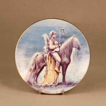Arabia Knight of happiness wall plate Wisdom designer Sussi Anna Åberg