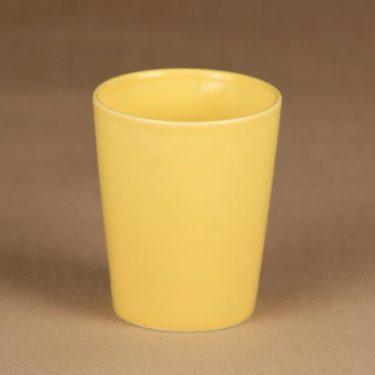 Arabia Teema muki, keltainen, suunnittelija Kaj Franck,