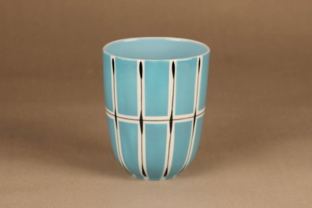 Arabia Ruutu oval vase designer Olga Osol