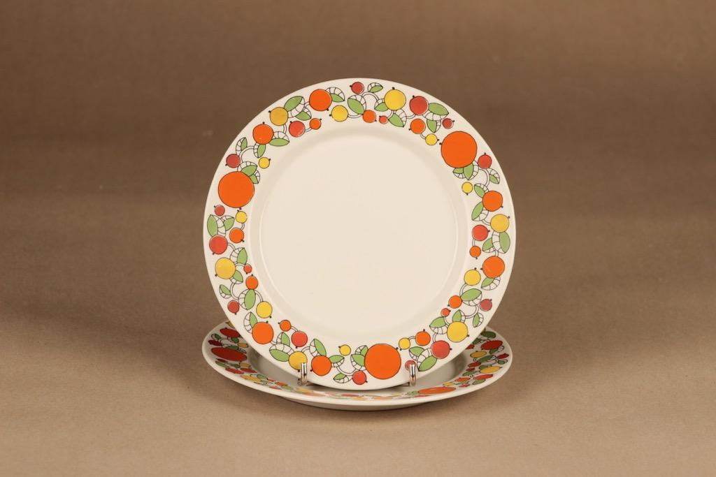 Arabia Jaffa cake plate 2 pcs designer Laila Hakala