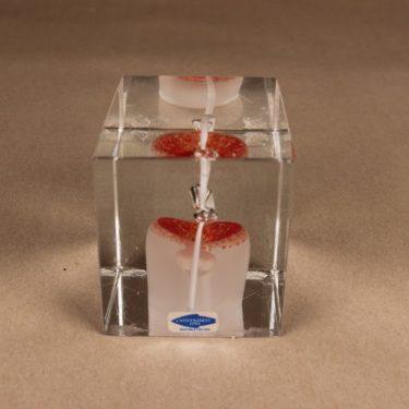 Nuutajärvi annual art glass cube 1985 designer Oiva Toikka 5