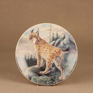Arabia wall plate Lynx designer Kimmo Pälikkö