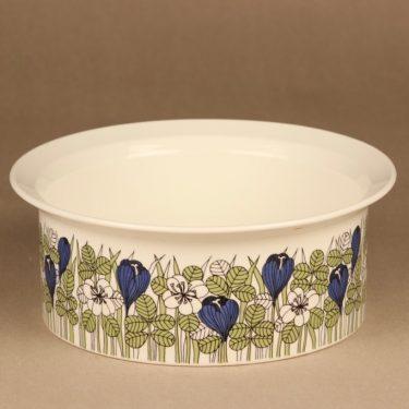 Arabia Krokus bowl big size designer Esteri Tomula