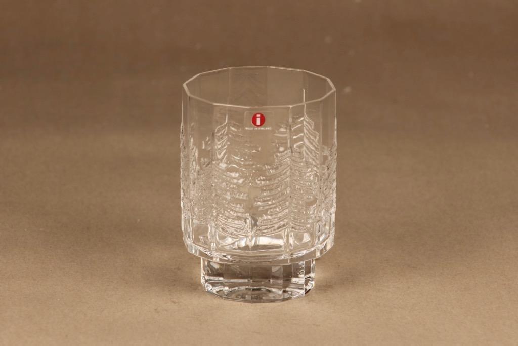 Iittala Kuusi whiskey glass designer Jorma Vennola