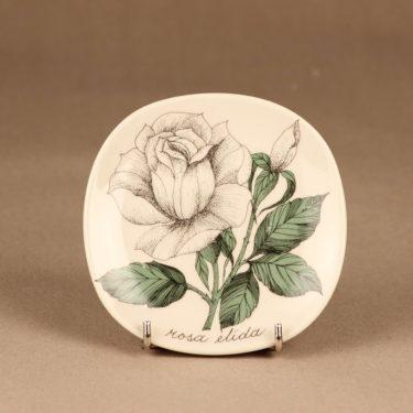 Arabia Rosa wall plate Rosa Elida designer Esteri Tomula