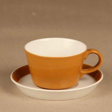 Arabia Aprikoosi kahvikuppi, 15 cl, suunnittelija Kaarina Aho, 15 cl
