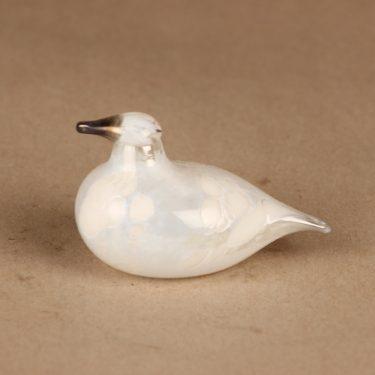 Nuutajärvi prototype bird, white designer Oiva Toikka