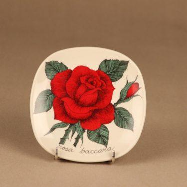Arabia Rosa wall plate Rosa baccara designer Esteri Tomula