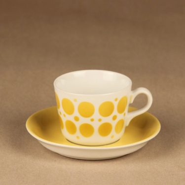 Arabia AA coffee cup, blow decorative