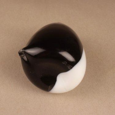 Nuutajärvi lintu , Pingviini, suunnittelija Oiva Toikka, Pingviini, signeerattu kuva 5