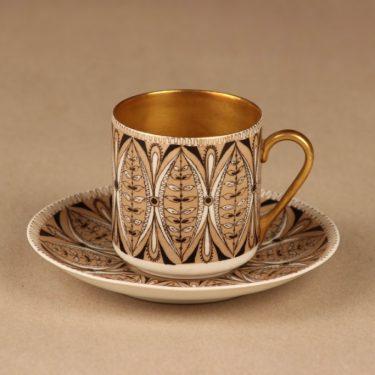 Arabia Asta mokkakuppi, käsinmaalattu, suunnittelija Esteri Tomula, käsinmaalattu