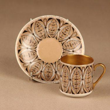 Arabia Asta mokkakuppi, käsinmaalattu, suunnittelija Esteri Tomula, käsinmaalattu kuva 2