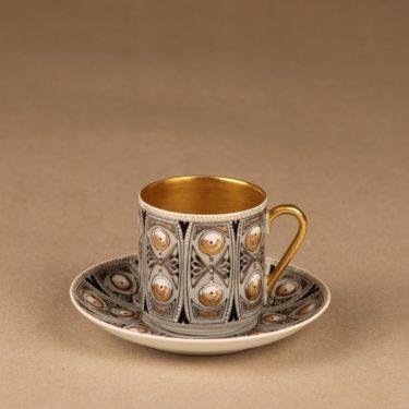 Arabia Milla espressocup, hand-painted designer Esteri Tomula