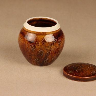 Arabia hillopurkki, ruskea, suunnittelija Ulla Procope,  kuva 2