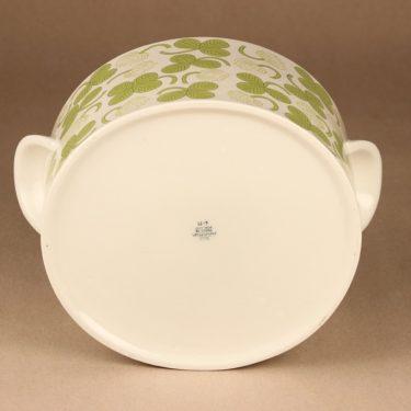 Arabia Apila terriini, vihreä, suunnittelija Birger Kaipiainen,  kuva 4