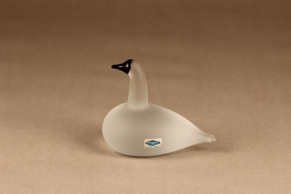 Nuutajärvi bird Snow Goose designer Oiva Toikka