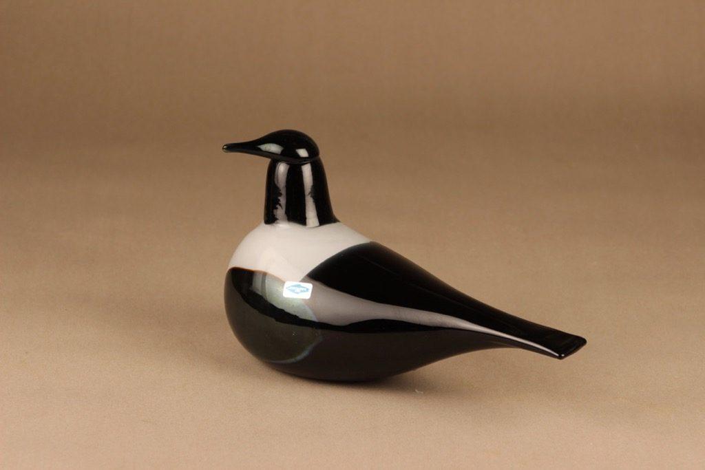 Arabia lintu , Harakka, suunnittelija Oiva Toikka, Harakka, signeerattu