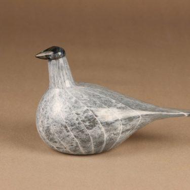 Nuutajärvi lintu , Kuikan poikanen, suunnittelija Oiva Toikka, Kuikan poikanen, signeerattu