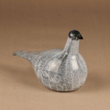 Nuutajärvi lintu , Kuikan poikanen, suunnittelija Oiva Toikka, Kuikan poikanen, signeerattu kuva 2