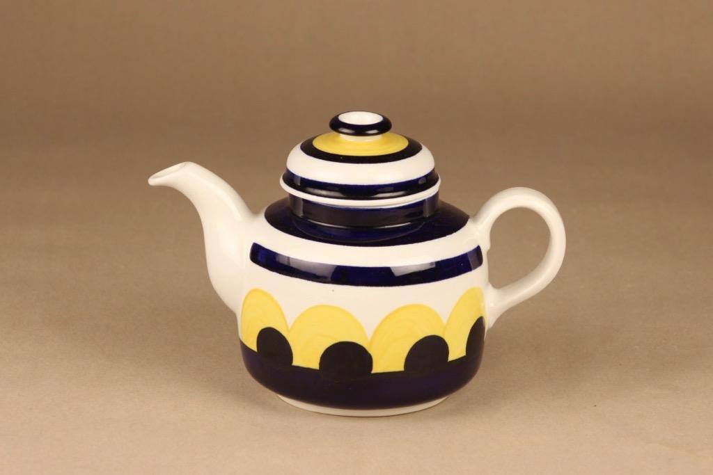 Arabia Paju tea pot hand-painted designer Anja Jaatinen-Winquist