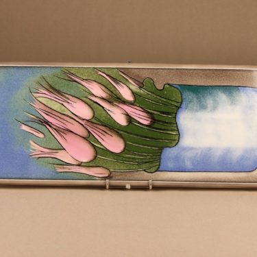 Arabia HLS seinätaulu, suunnittelija Heljä Liukko-Sundström, serikuva, kukka