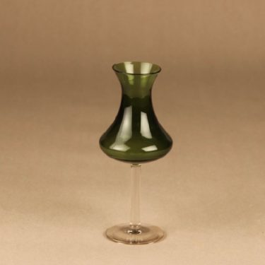 Kumela 4214 vase green designer Sirkku Kumela-Lehtonen