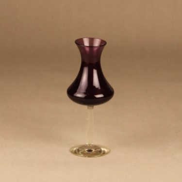 Kumela 4214 vase, dark lilac designer Sirkku Kumela-Lehtonen