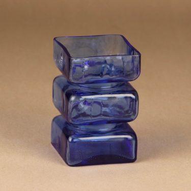 Riihimäen lasi Pala vase blue designer Helena Tynell