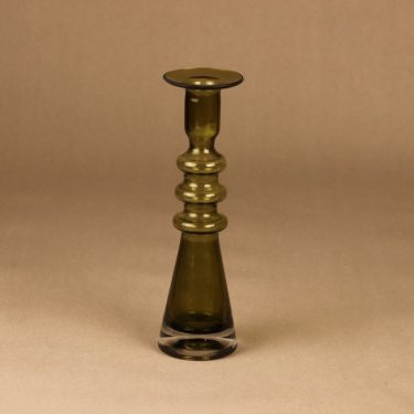 Riihimäen lasi Pagoda kynttilänjalka suunnittelija Nanny Still