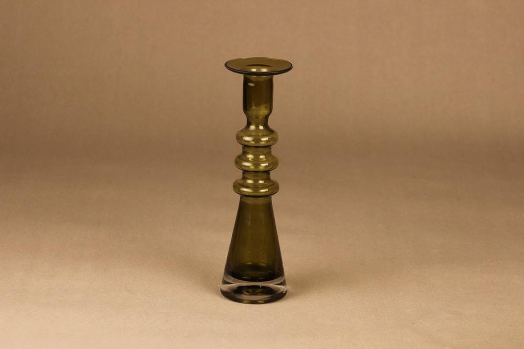 Riihimäen lasi Pagoda candle holder designer Nanny Still