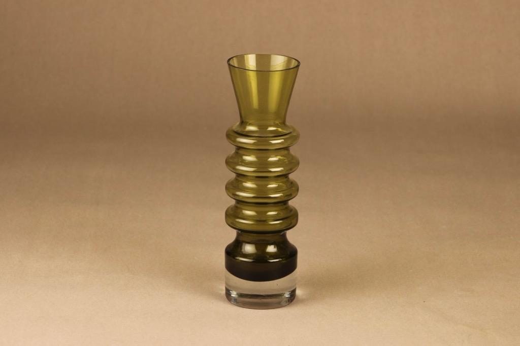 Riihimäen lasi Pagoda maljakko suunnittelija Nanny Still