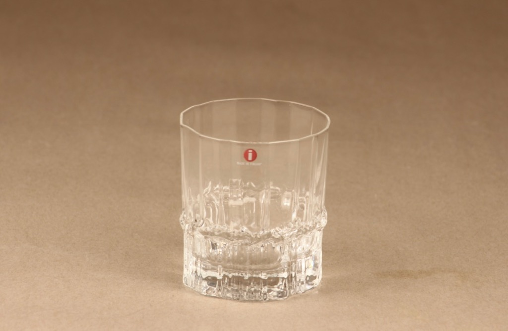 Iittala Pallas whiskey glass 25 cl designer Tapio Wirkkala