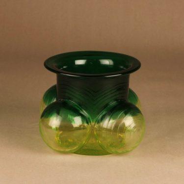 Riihimäen lasi Pajazzo vase designer Nanny Still