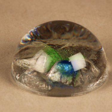 Riihimäen lasi Rantakivet art glass designer Helena Tynell