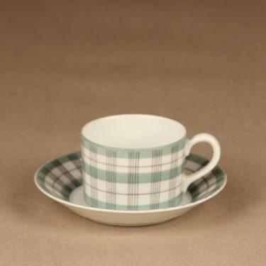 Arabia Verkko espresso cup, hand-painted designer Esteri Tomula