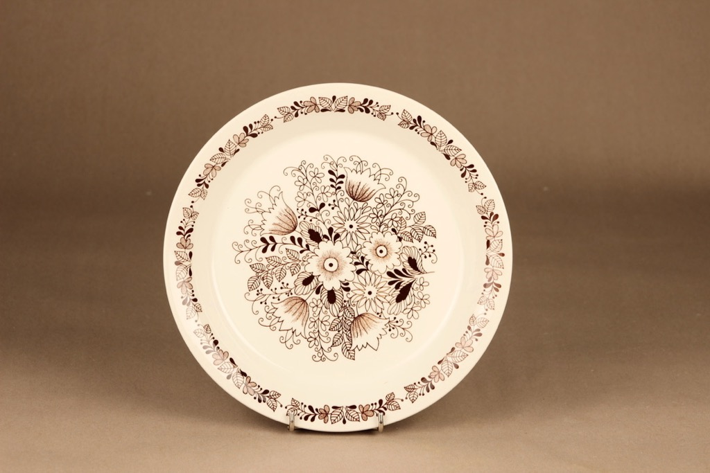 Arabia Tuula dinner plate designer Esteri Tomula