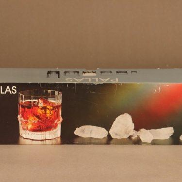 Iittala Pallas on the rocks-lasi, 28 cl, 4 kpl, suunnittelija Tapio Wirkkala, 28 cl kuva 2