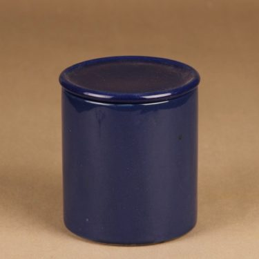 Arabia Kilta jar blue designer Kaj Franck
