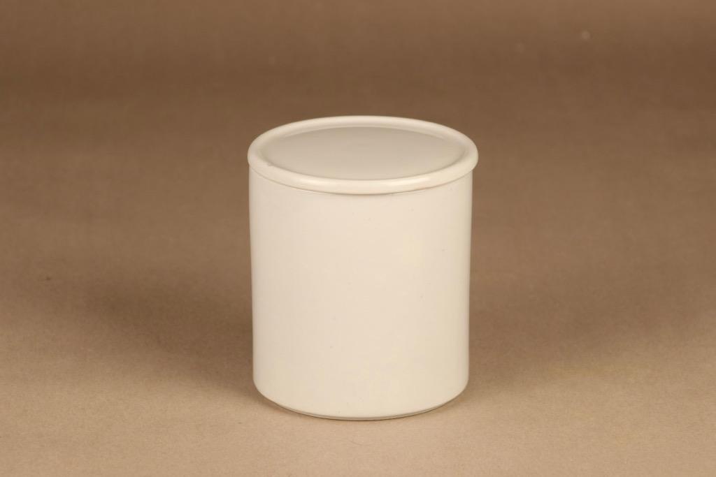 Arabia Kilta jar white designer Kaj Franck